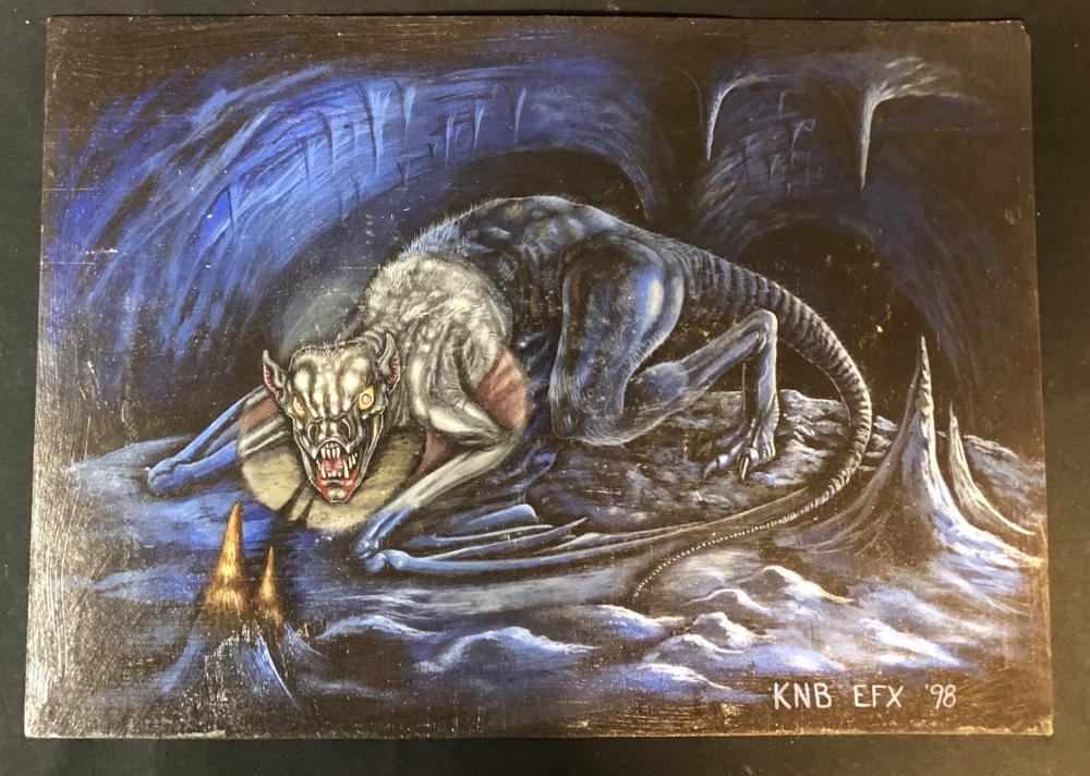 Lot 53: The Cave (2005) - Creature Design Concept - Director's Film Pitch Art