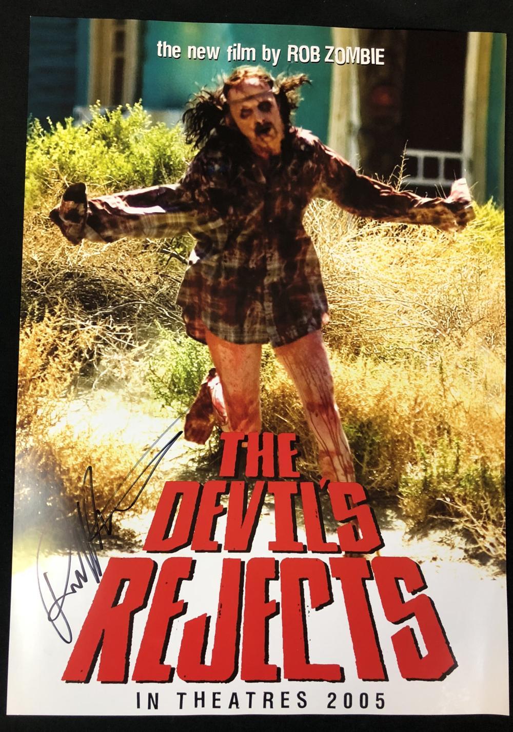 The Devil's Rejects (2005) - Robert Kurtzman Signed Poster