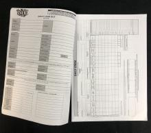 Lot 77: Star Wars: Episode IX (2019) - Trixie Daily Start Pack Blank Contract