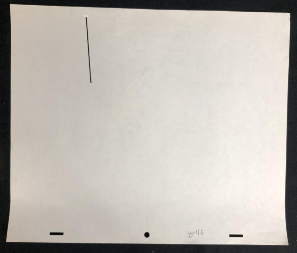 Star Wars - The Empire Strikes Back (1980) - Hand Drawn Lightsaber Rotoscope Drawing - Lot B
