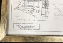 Lot 83: Star Wars: Episode V - The Empire Strikes Back (1980) - Alan Jenkins (Art Director) Signed Snowspeeder Print