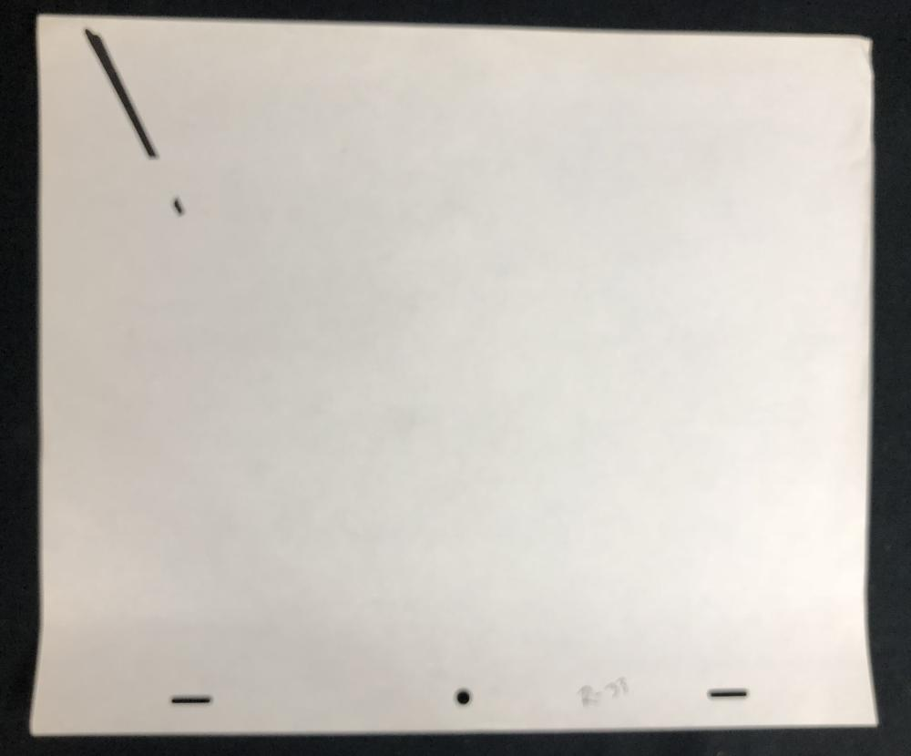Star Wars - The Empire Strikes Back (1980) - Hand Drawn Lightsaber Rotoscope Drawing - Lot D