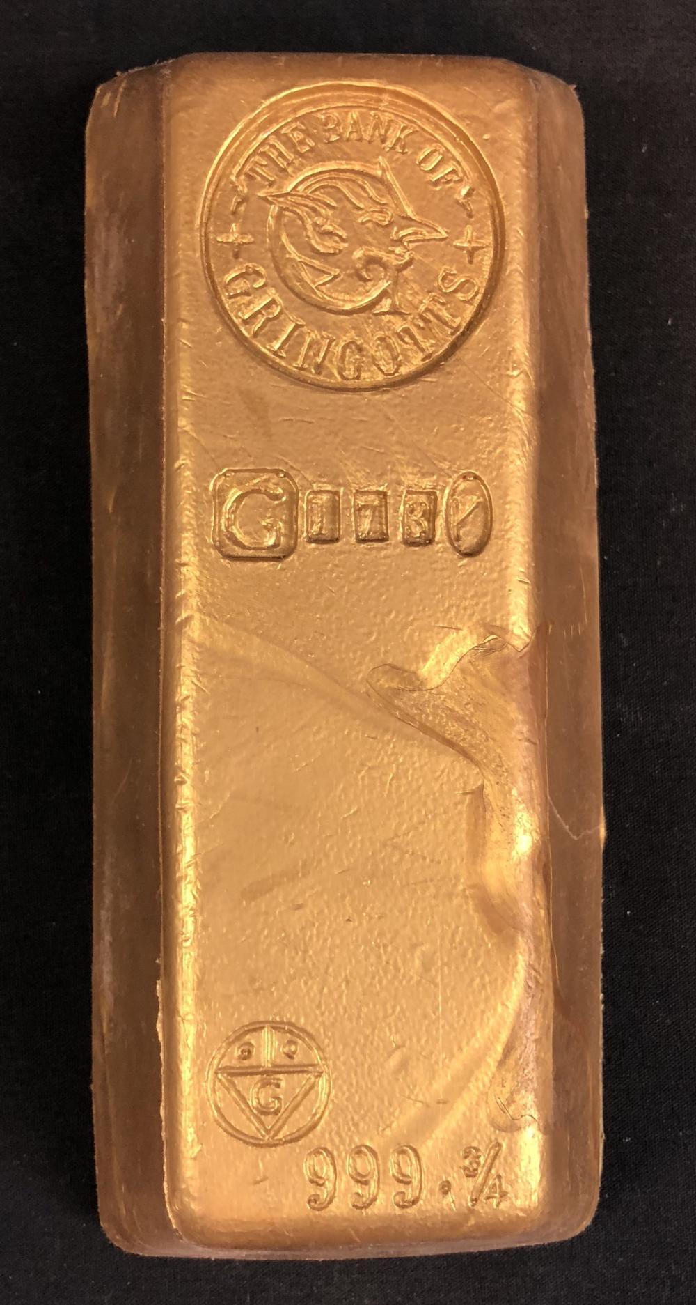Harry Potter and the Half-Blood Prince (2009) - Gringotts Bank Gold Bar (Large)