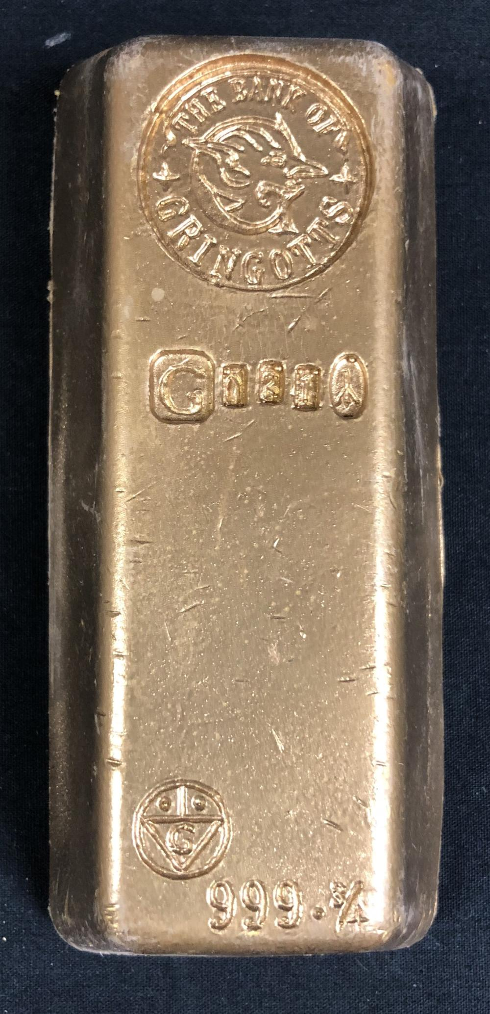 Harry Potter and the Half-Blood Prince (2009) - Gringotts Bank Gold Bar (Small)