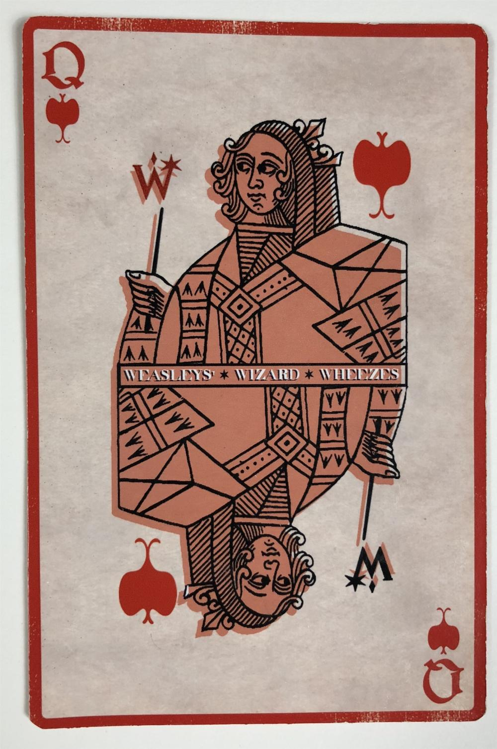 Harry Potter and the Half-Blood Prince (2009) - Weasleys' Wizard Wheezes Store Oversized Playing Card