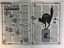 Lot 114: Harry Potter and the Deathly Hallows: Part 1 (2010) - Quibblers Magazine Center Spread Pages - Lot A