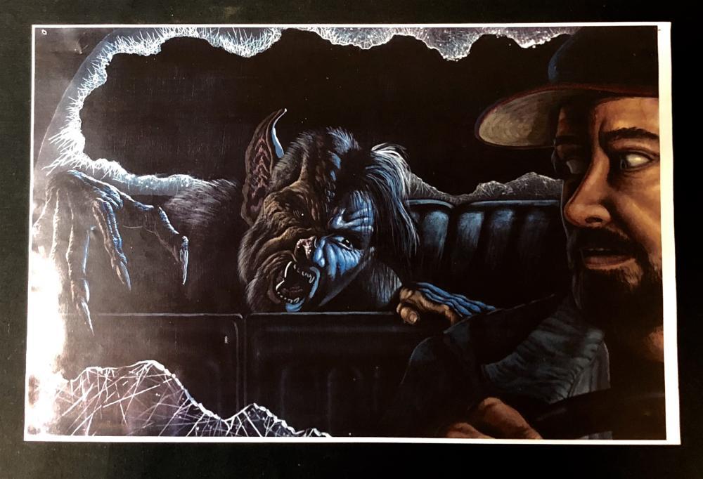 From Dusk Till Dawn (1996) - Vampire in Car Concept Print