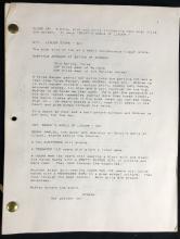 Lot 124: From Dusk Till Dawn (1996) - Historic Quentin Tarantino Original Script Copy Of The First Draft