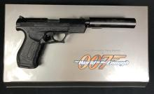 Lot 127: James Bond - The World Is Not Enough (1999) - Pierce Brosnan Walther P99 Gun With Suppressor
