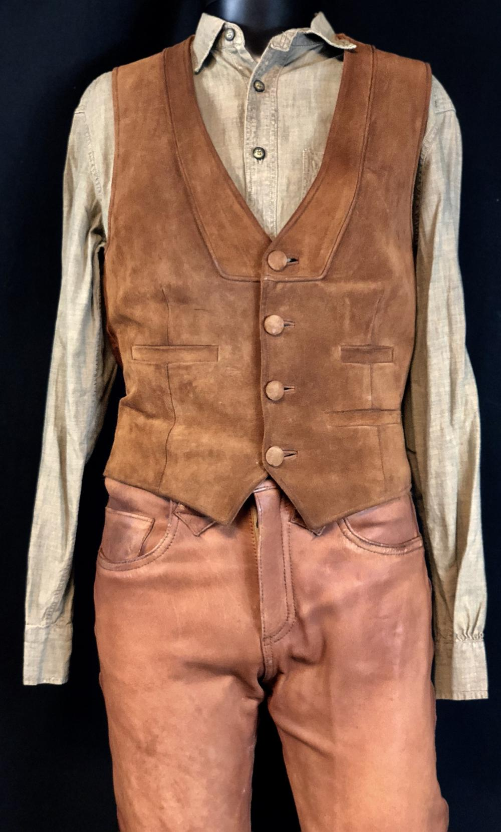 Lot 139: Priest (2011) - Hicks (Cam Gigandet) Custom Made Costume And Gun/Holster