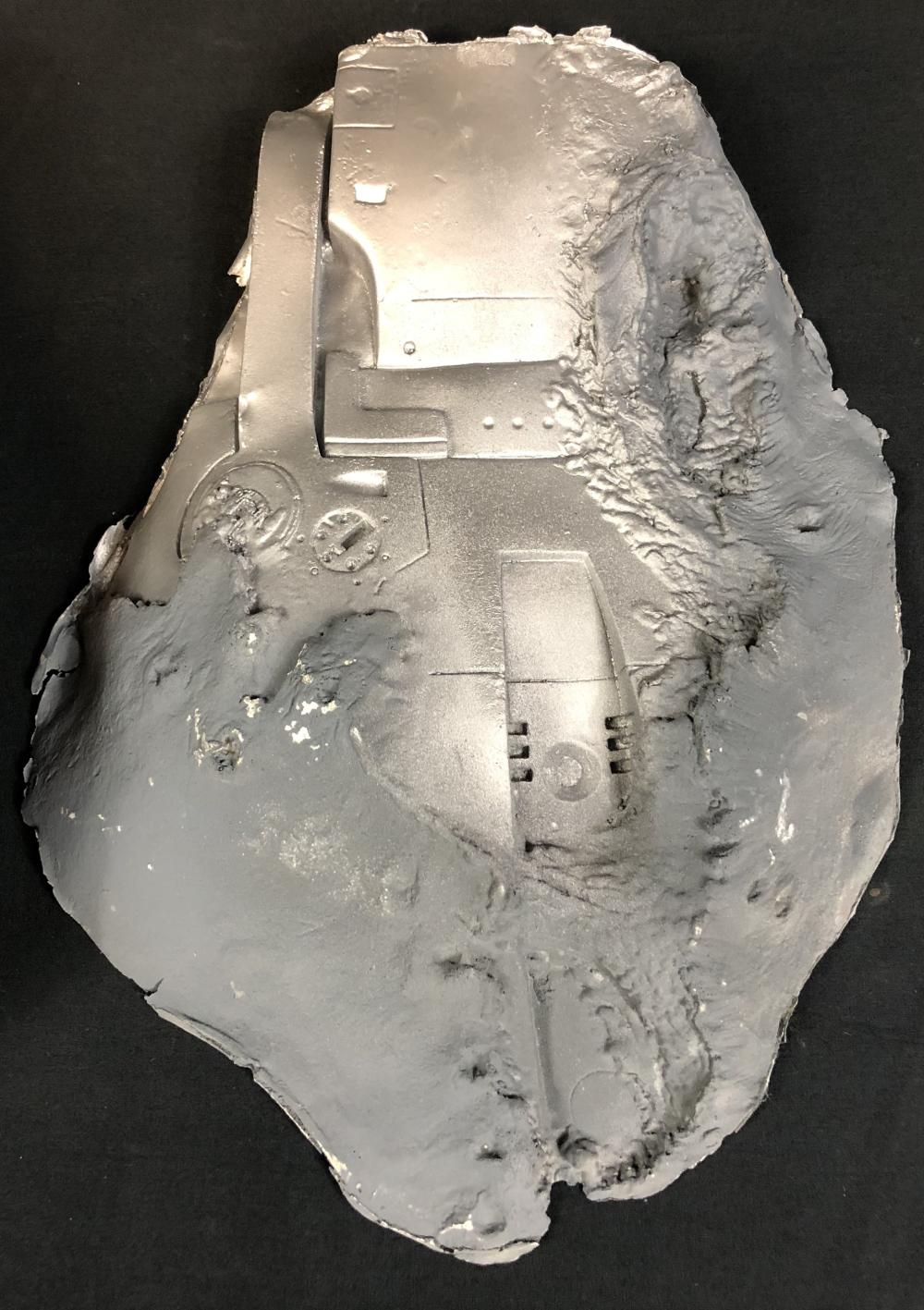 Lot 154: Terminator 2: Judgment Day (1991) - Arnold Schwarzenegger Chest Mold and Appliance
