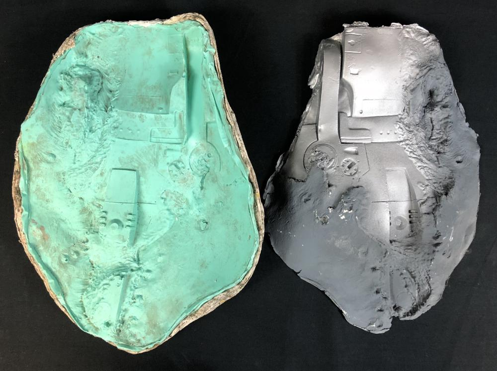 Terminator 2: Judgment Day (1991) - Arnold Schwarzenegger Chest Mold and Appliance
