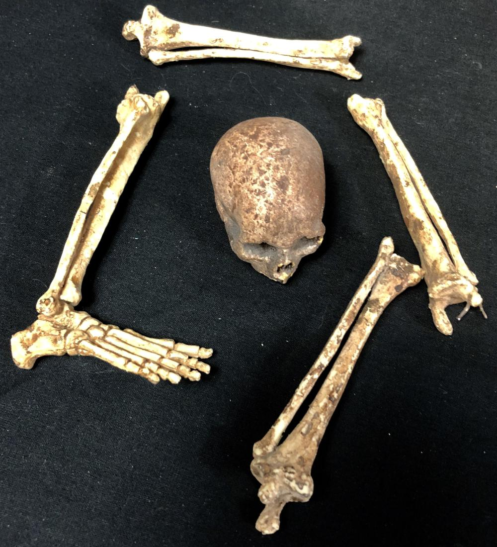 Terminator 2: Judgment Day (1991) - Miniature Skeletal Collection - Lot B