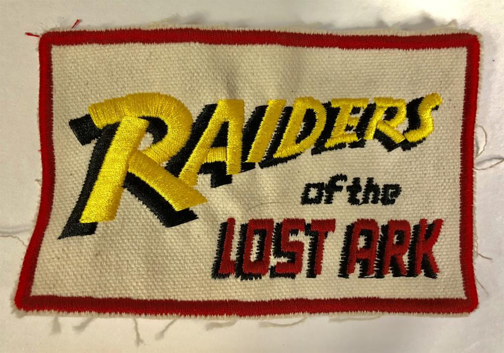 Lot 162: Raiders of the Lost Ark (1981) - Crew Hat Patch