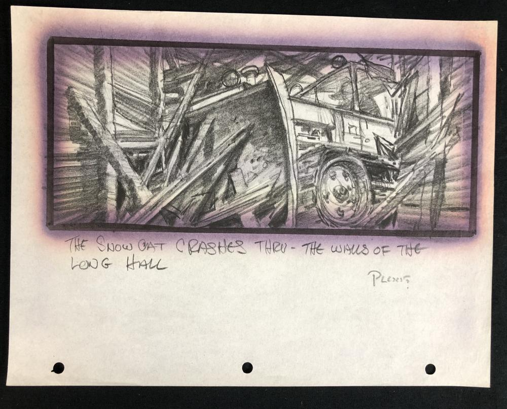 The Thing (1982) - Hand Drawn Storyboard - Tractor