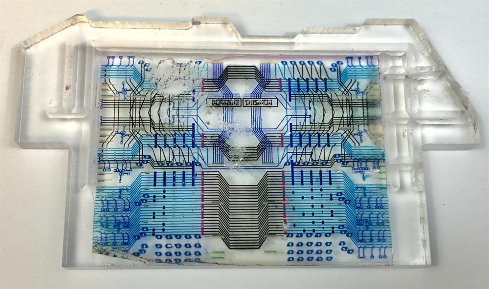 Stargate SG-1 (1997–2007) - Daedalus-class Battlecruiser  Circuit Board Crystal