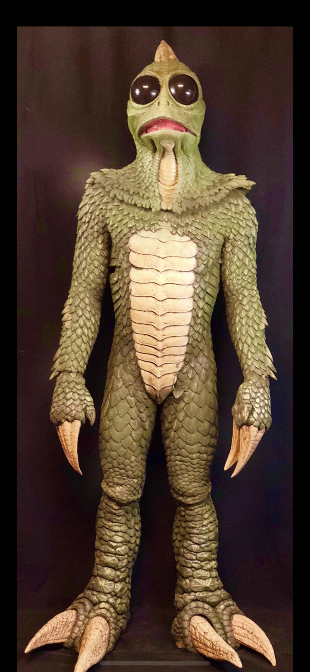 Land of the Lost (2009) - Complete Screen Used Sleestak Costume