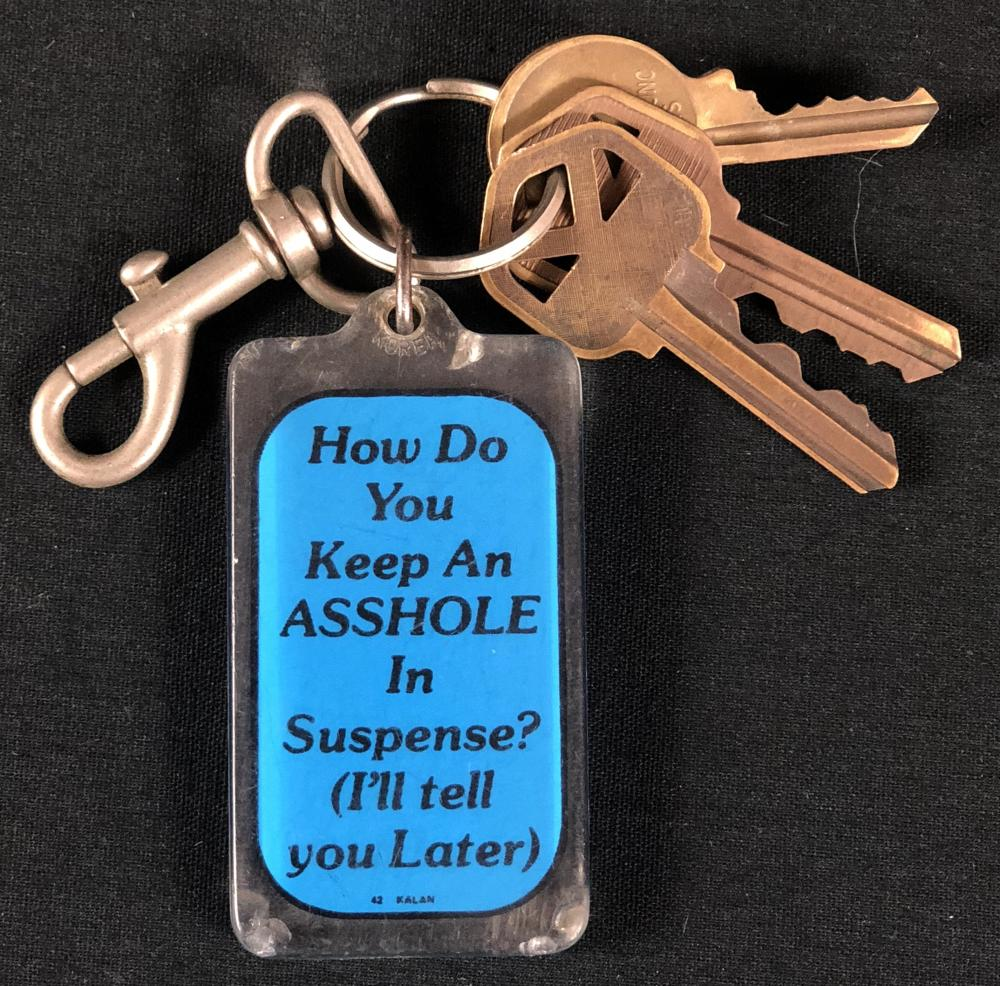 31 (Rob Zombie 2016) - Camper Keys and keychain