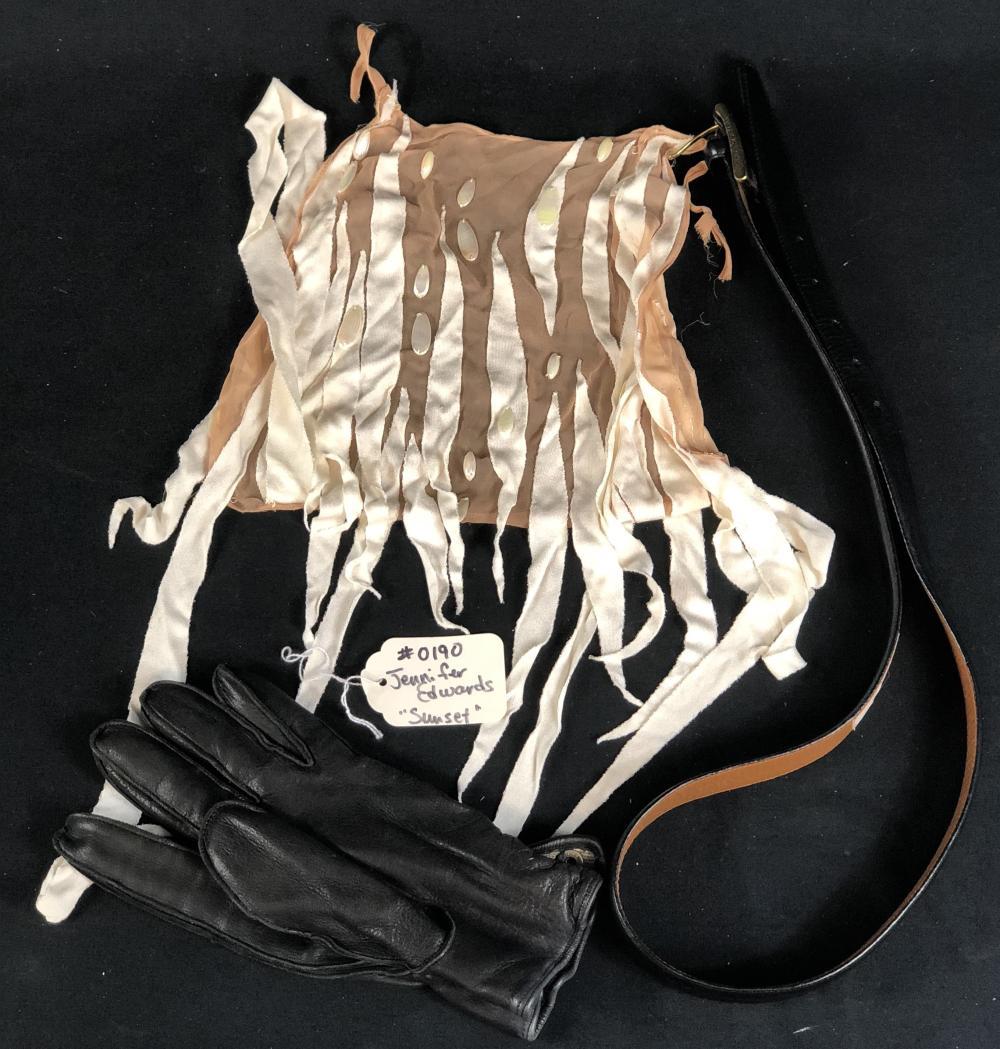 Sunset (1988) - Bruce Willis Belt/Glove & Jennifer Edwards Undergarments
