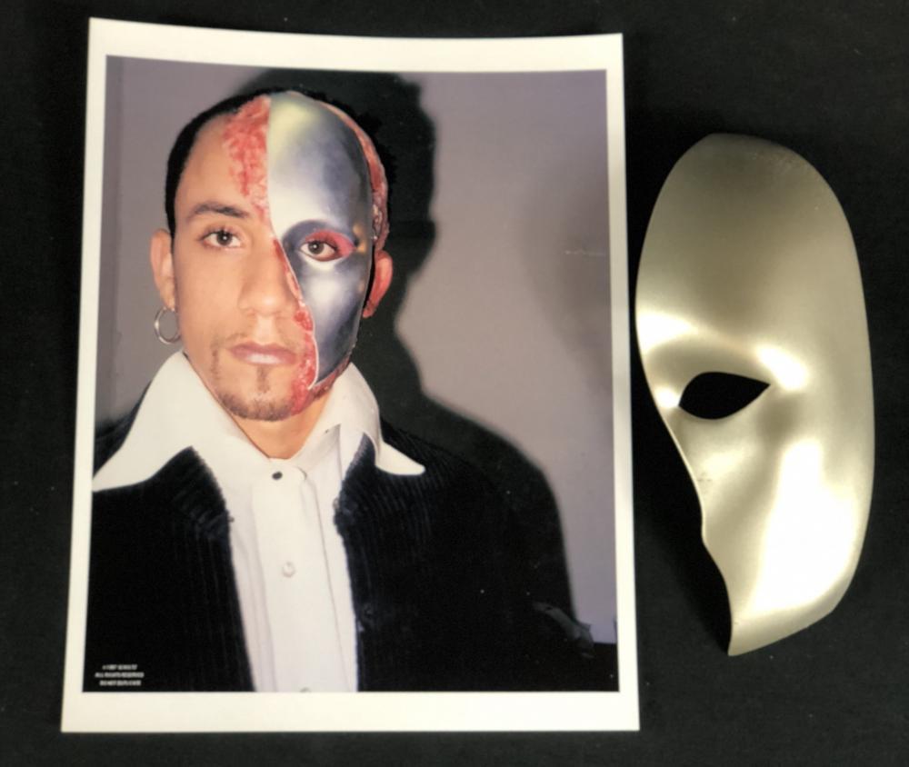 "Backstreet Boys AJ McLean Phantom Mask ""Everybody (Backstreet's Back)"" Signed"