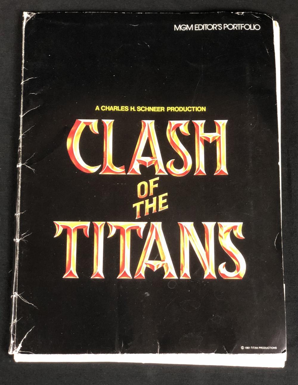 Clash of the Titans (1981) - Original Press Kit