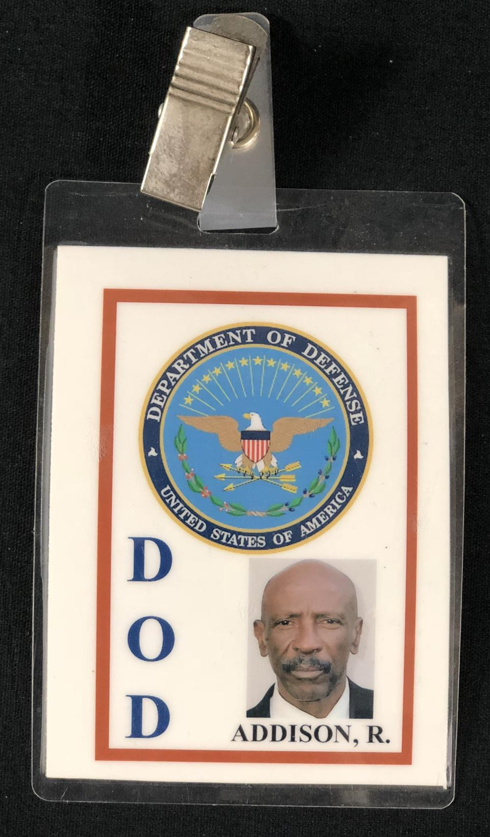 Momentum (2003) - Louis Gossett Jr. Department Of Defense Badge