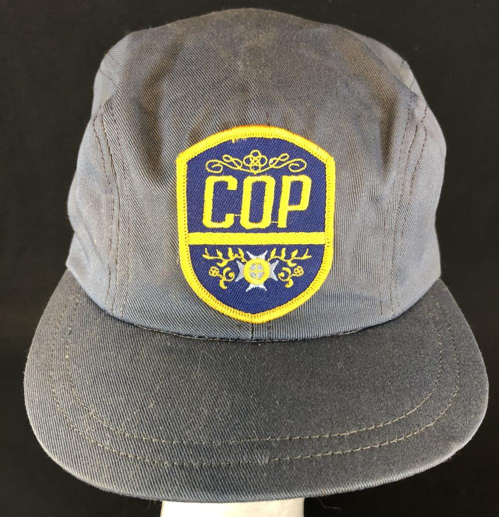 """Police Academy 4: Citizens on Patrol (1987) - """"Butterworth"""" Police """"COP"""" Cap"""