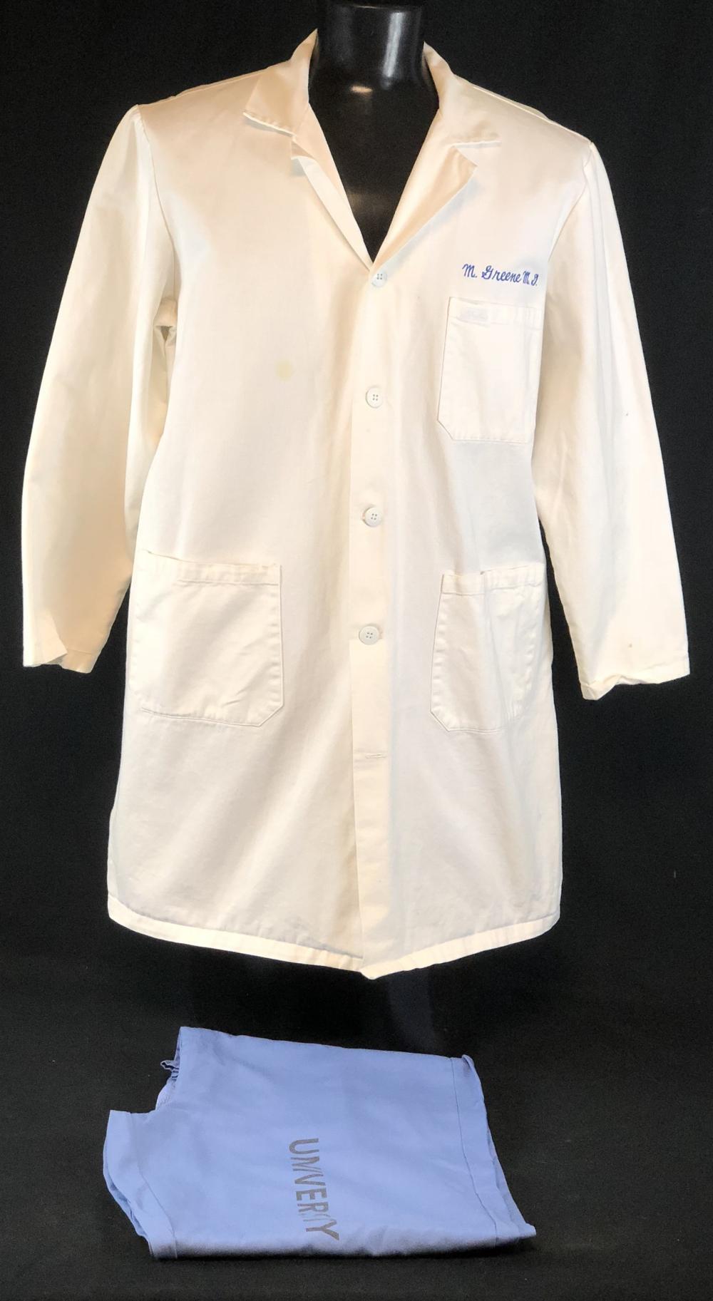 """ER (1994–2009) - Anthony Edwards """"Mark Greene"""" Lab Coat & Scrub Bottoms"""