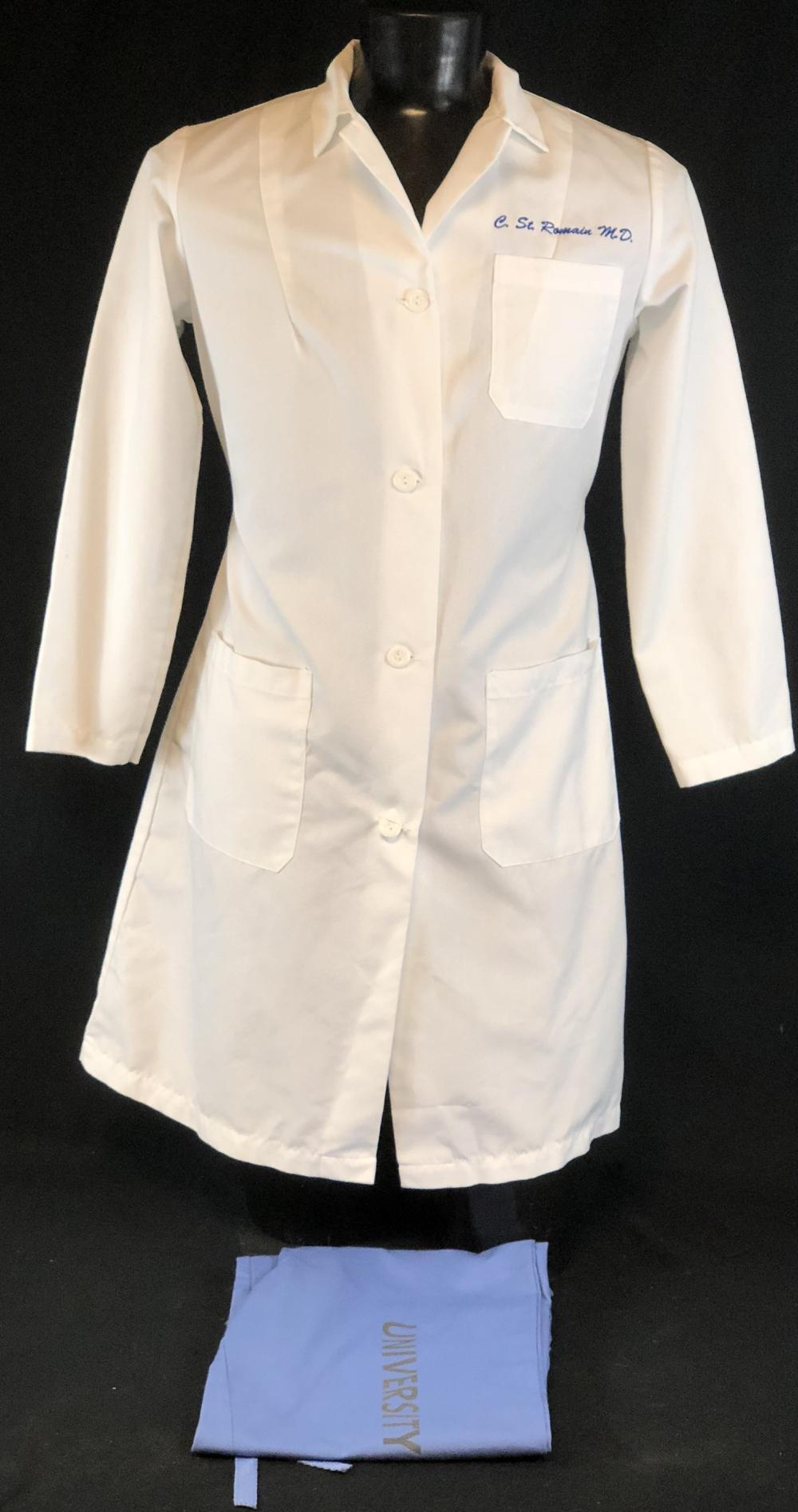 "ER (1994–2009) - ""C. ST. Romain M.D."" Lab Coat & Scrub Bottoms"