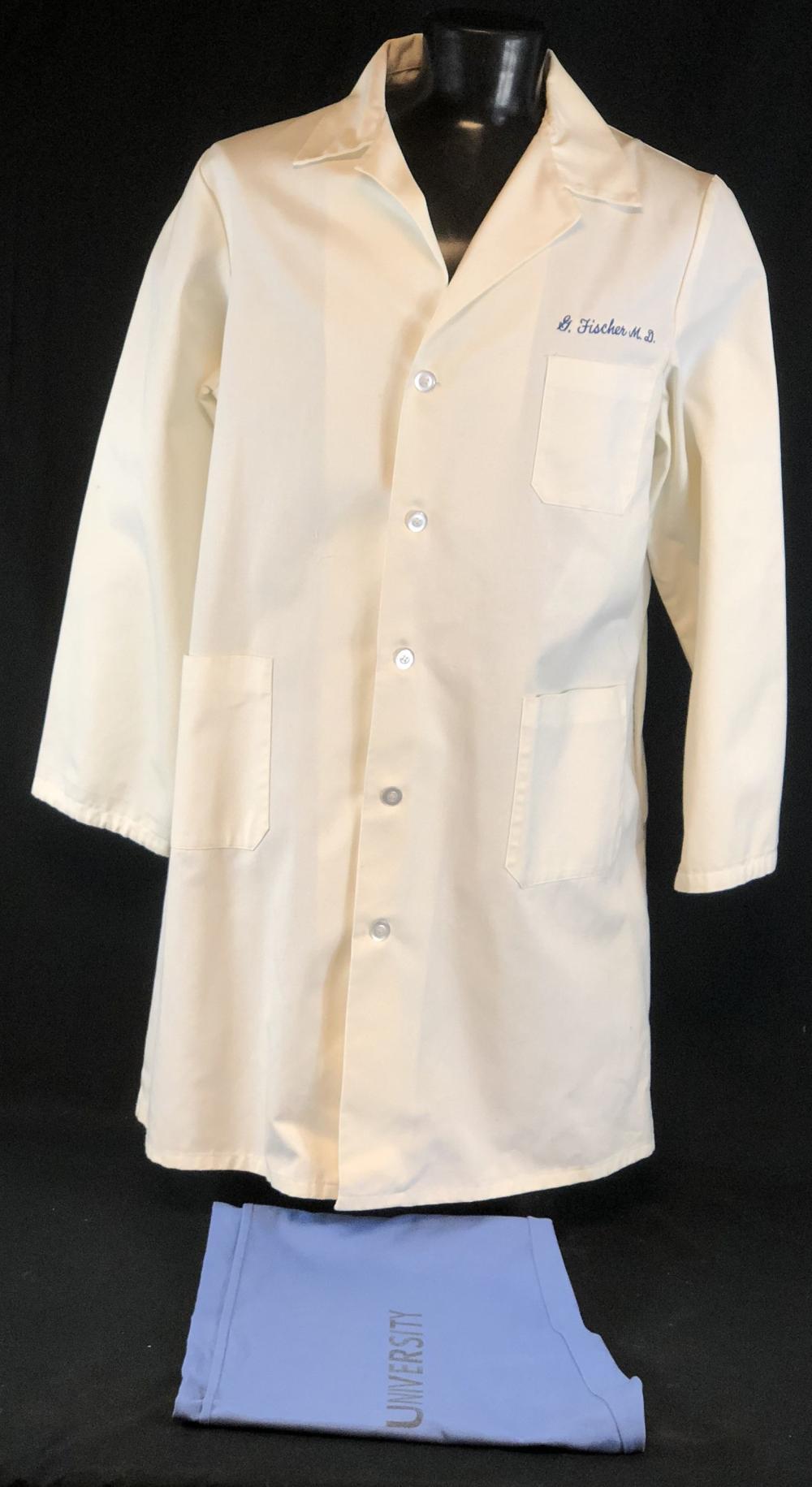 "ER (1994–2009) - Harry Lennix ""Dr. Greg Fischer"" Lab Coat & Scrub Bottoms"
