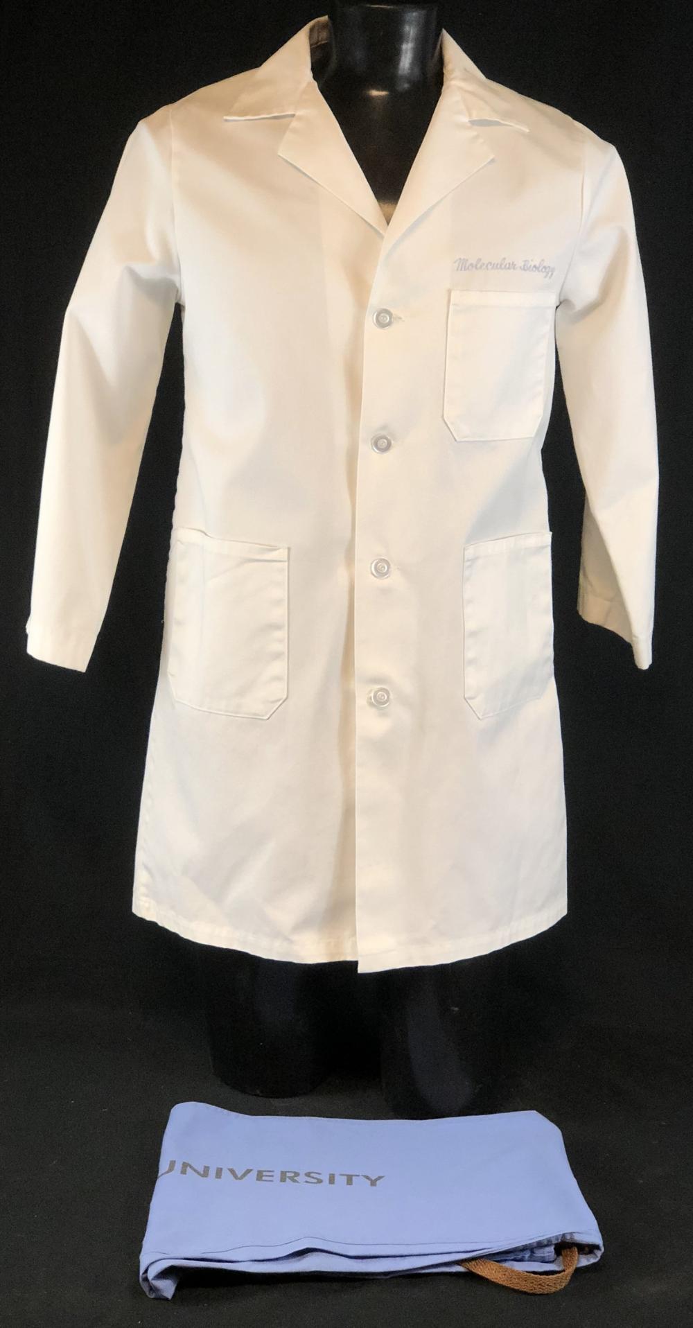 "ER (1994–2009) - ""Molecular Biology"" Lab Coat & Scrub Bottoms"
