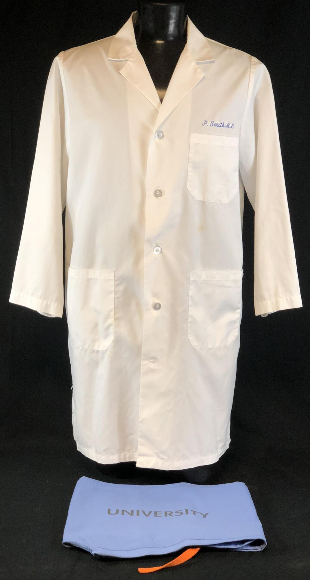 "ER (1994–2009) - ""P.Smith M.D."" Lab Coat & Scrub Bottoms"