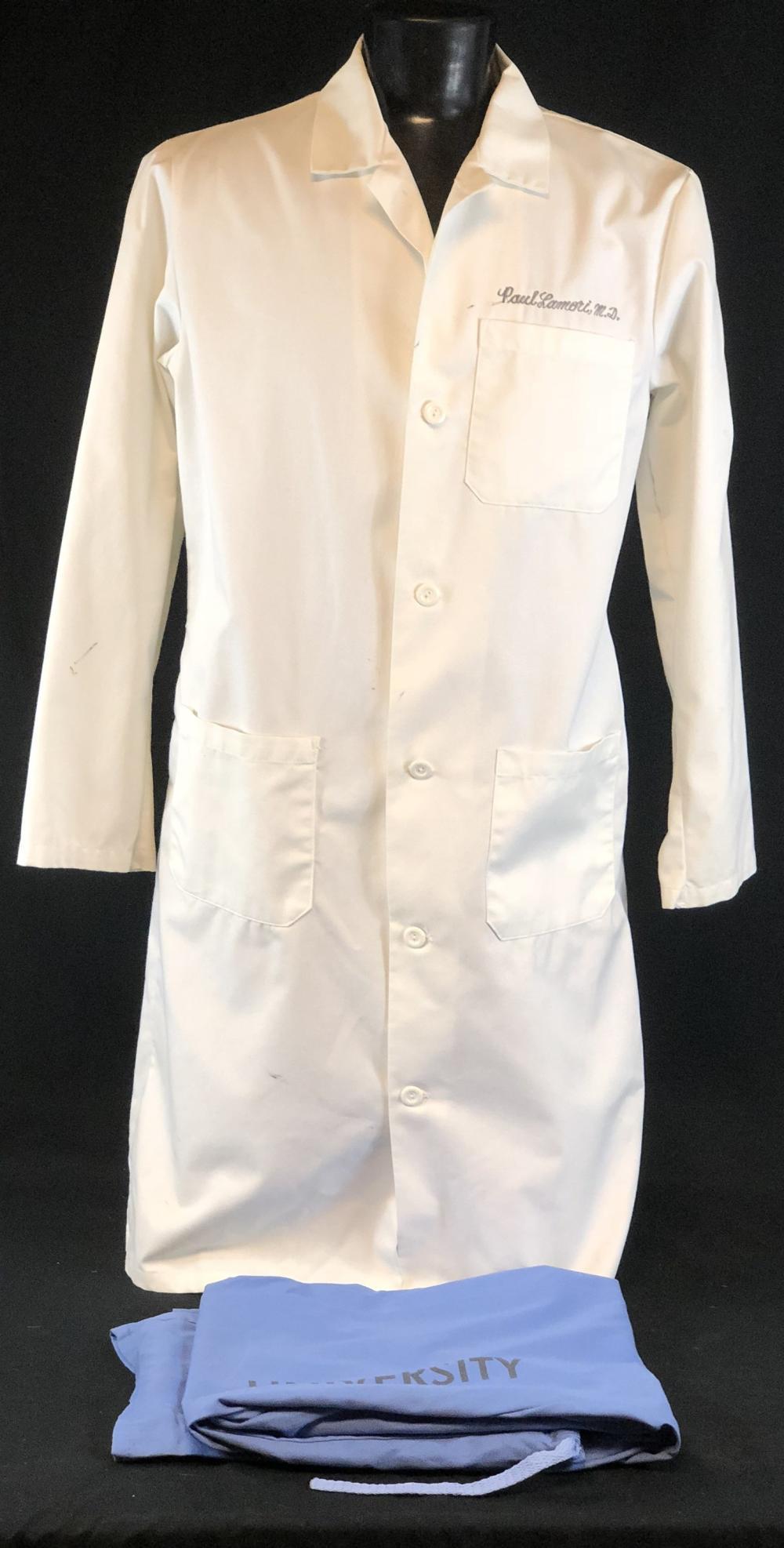 "ER (1994–2009) - ""Paul Lamoti M.D."" Lab Coat & Scrub Bottoms"