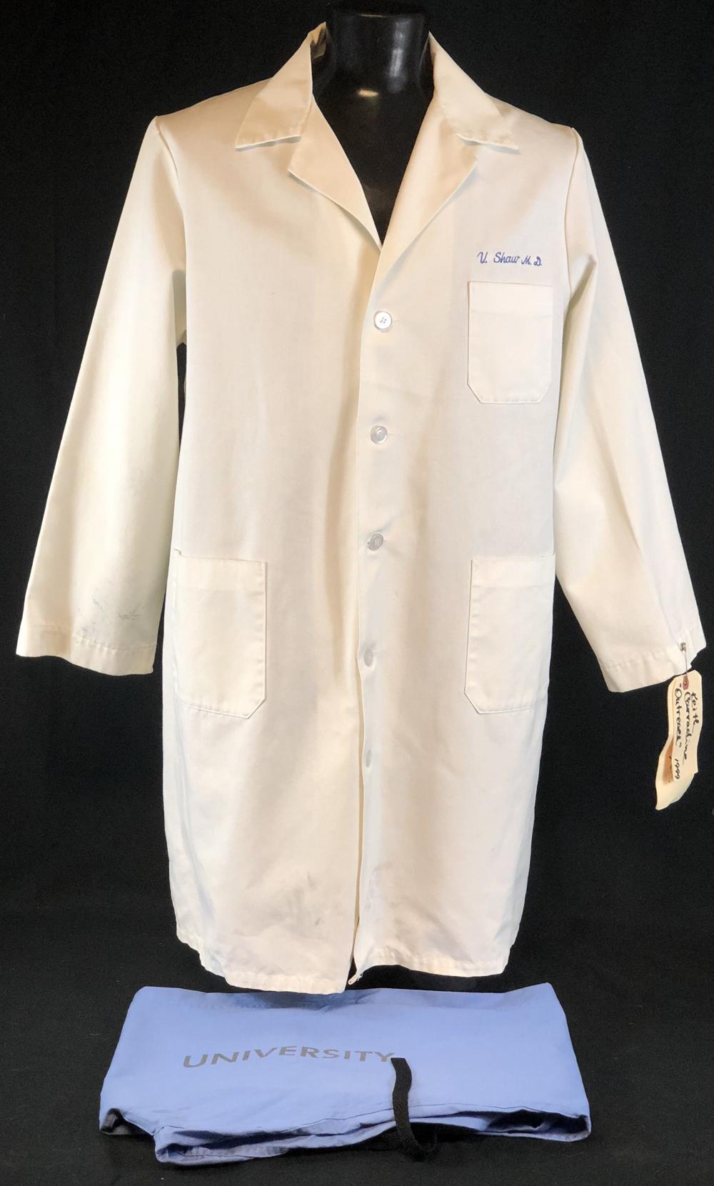 """ER (1994–2009) - """"V Shaw M.D."""" Lab Coat & Scrub Bottoms"""
