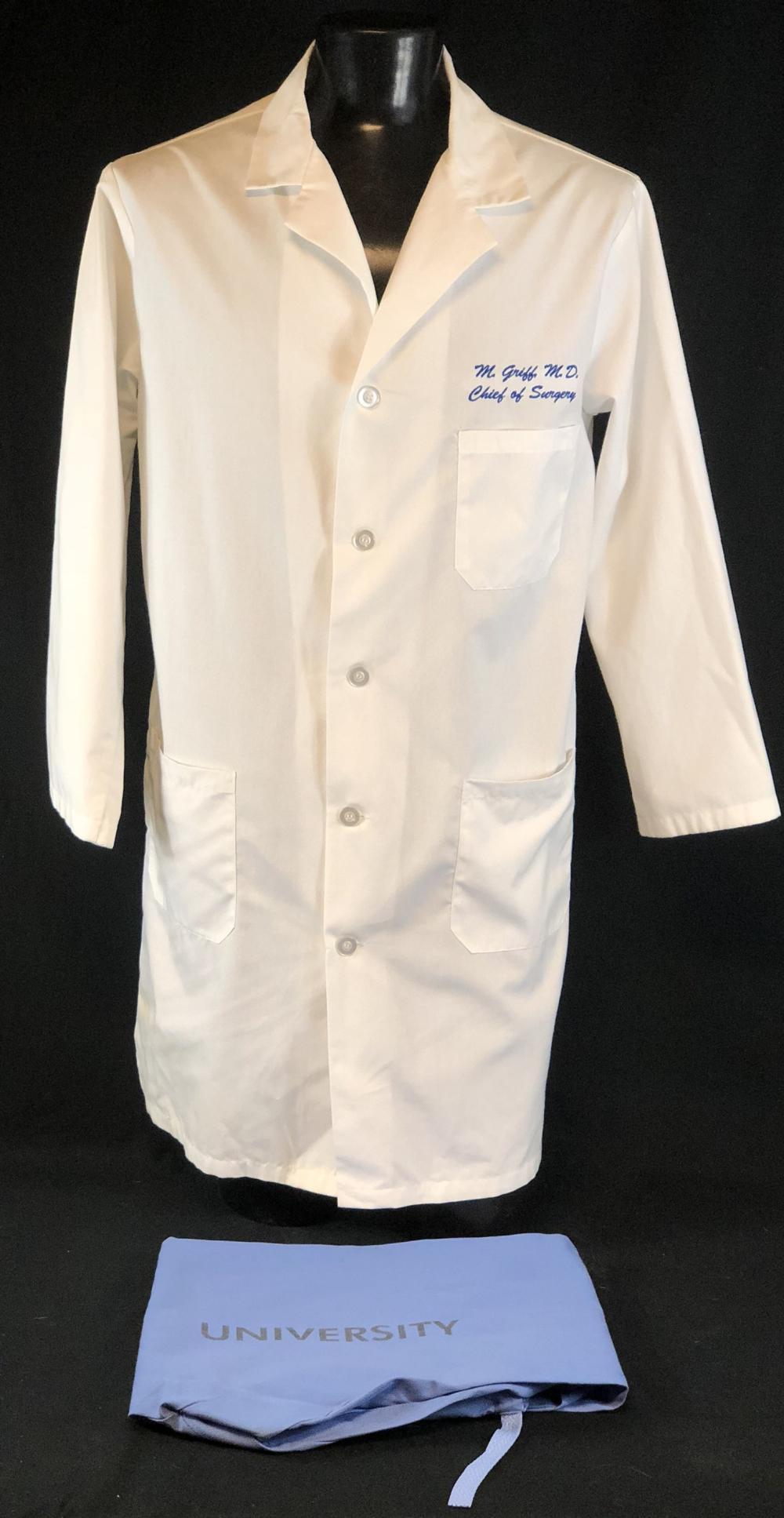 "ER (1994–2009) - ""M. Griff M.D. Chief Of Surgery"" Lab Coat & Scrub Bottoms"