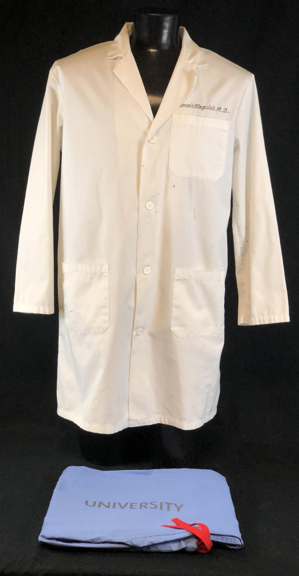 "ER (1994–2009) - ""Dennis Maguirie M.D."" Lab Coat & Scrub Bottoms"