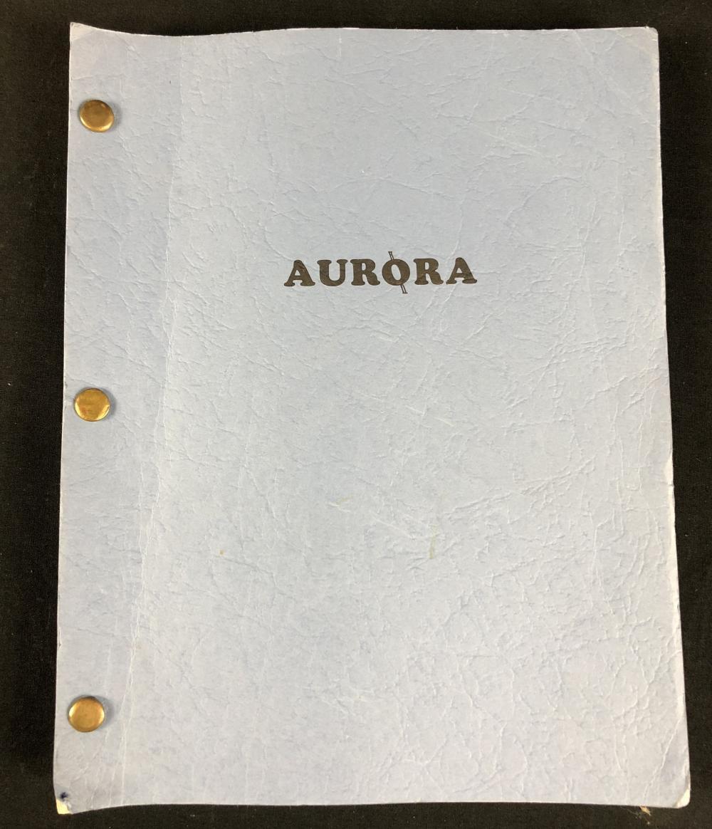 The Aurora Encounter (1986) - Dottie West Original Set Used Script