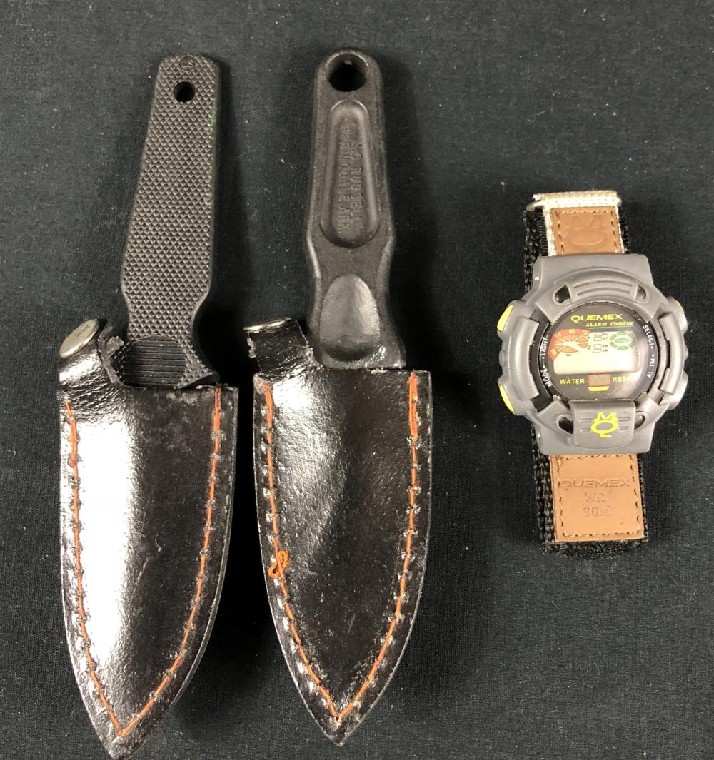 Supreme Sanction (1999) - Kristy Swanson Pair of Knife Handles and Watch