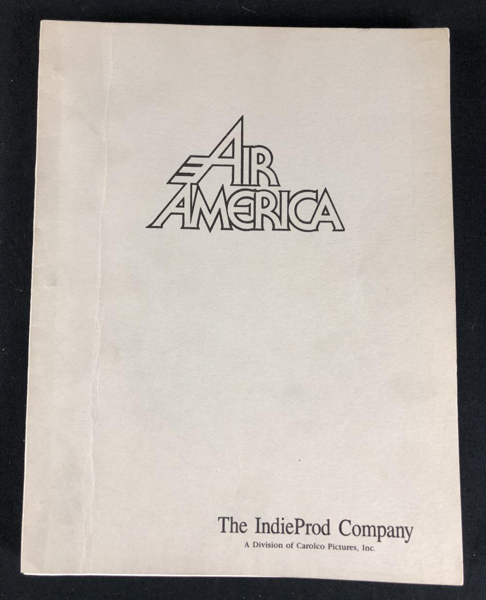 Air America (1990) - Original Production Used Script Annotated by Burt Kwouk