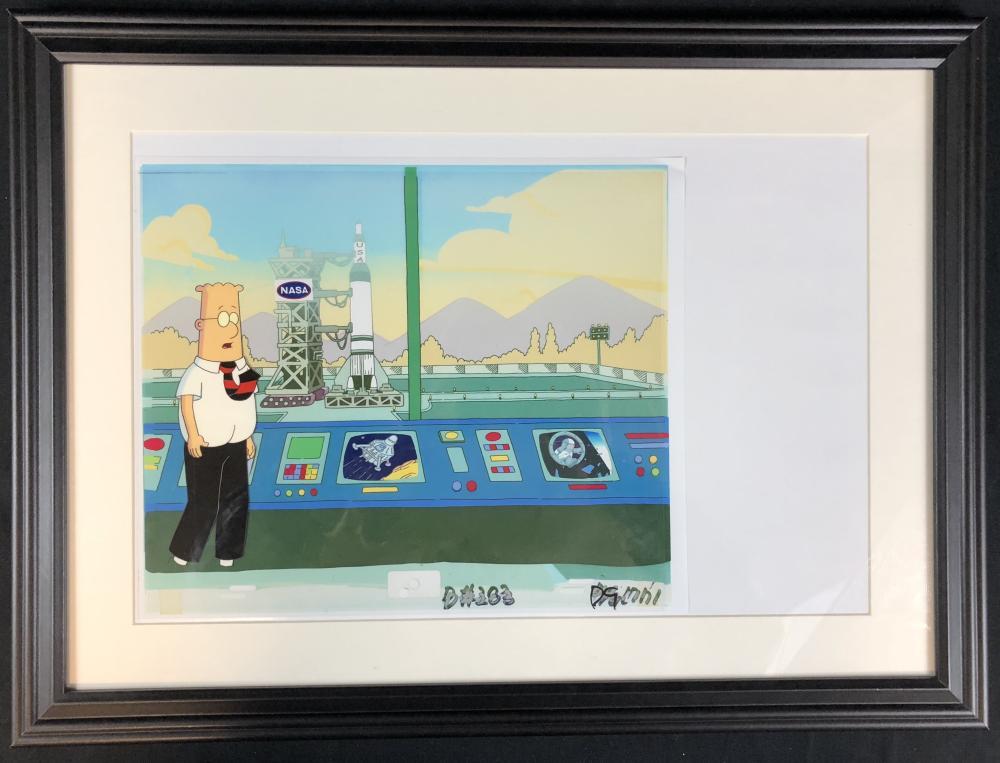 Dilbert (1999–2000) - Original Framed Dilbert Animation Cel - Lot A