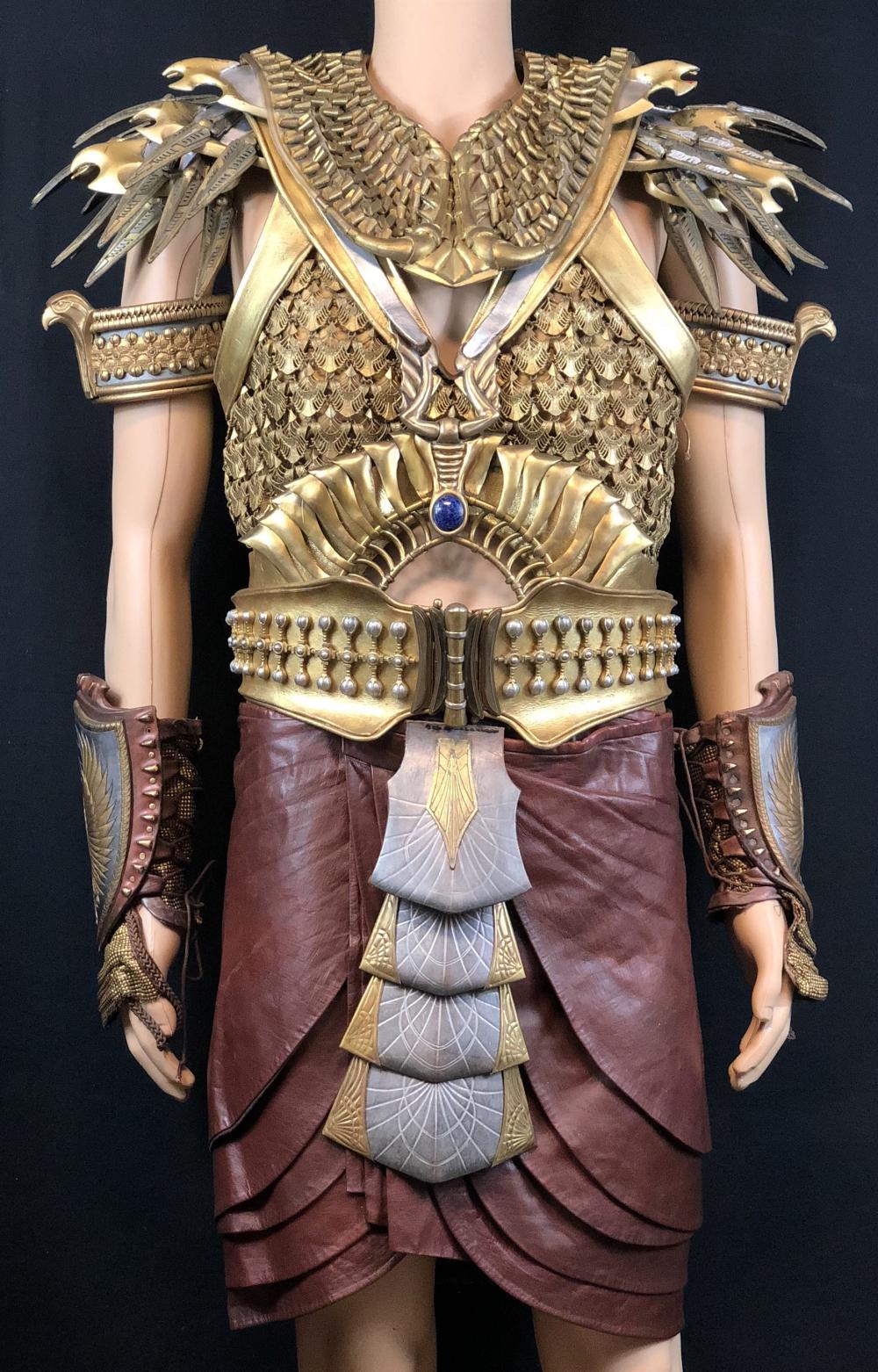 "Gods of Egypt (2016) - ""Horus"" Nikolaj Coster-Waldau Elaborate Coronation Costume"