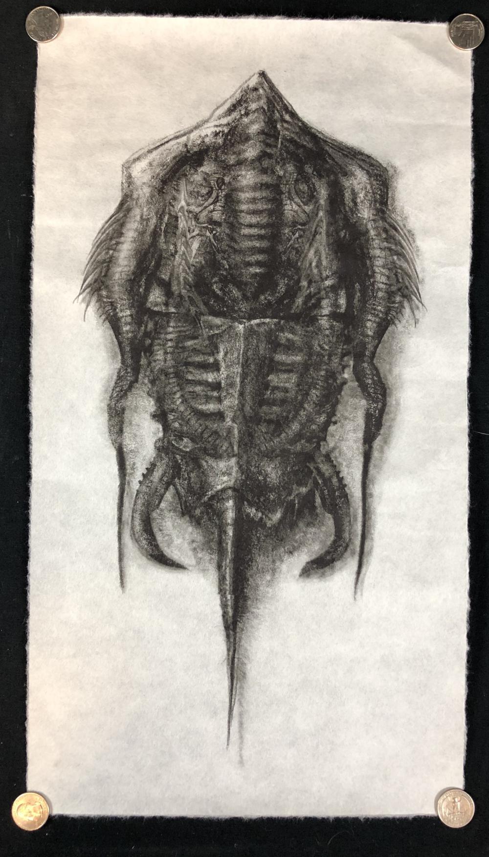 Alien: Covenant (2017) - Screen Used Artwork from David's Room (Michael Fassbender) - Lot D