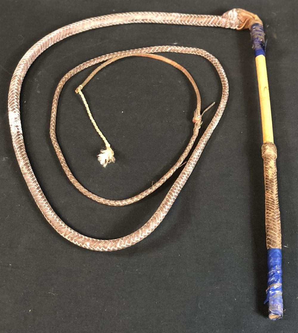 Quigley Down Under (1990) - Screen Used Whip