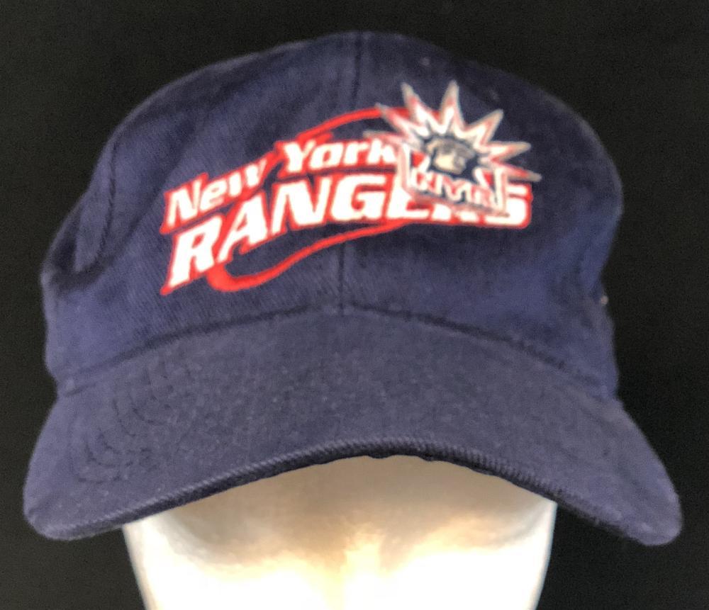 Spin City (1996–2002) - New York Rangers Dark Blue Hockey Cap