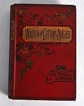 Walton and Cotton's Angler Book by G C Davies.