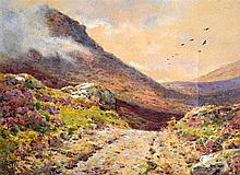 "ARTHUR SUKER (1857-1902), A Framed Pair of Watercolours, signed, ""A Dartmoo"