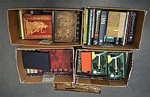 THREE BOXES OF VARIOUS BOOKS including Antiquity of the Jews etc. (qty)