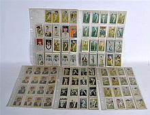 A COLLECTION OF WILLS AND OTHER CIGARETTE CARDS all cricket related. (qty)