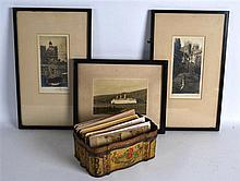 A COLLECTION OF VARIOUS VICTORIAN AND EDWARDIAN PHOTOGRAPHIC SLIDES togethe