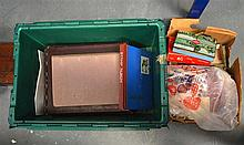 A QUANTITY OF STAMP ALBUMS various years and countries. (qty)